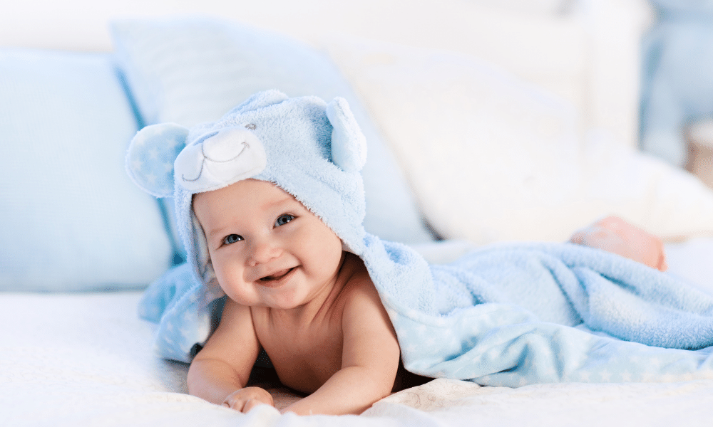 The right baby care and body routine