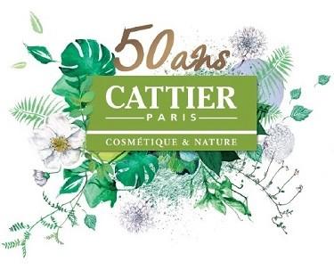logo 50 ans Cattier